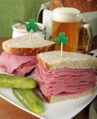 Steer clear of corned beef and beer on St. Patrick's Day and avoid a gout flare up.