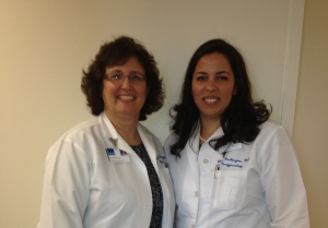 Doctors Linda Mihalov (left) and Blair Washington
