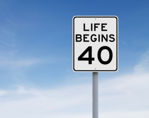 I'm told that life begins at 40. Apparently, so do mammograms.
