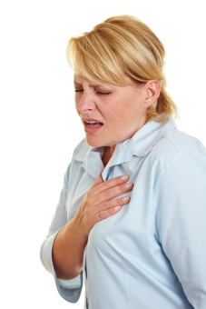 Woman Chest Pain