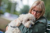 Pets can help people de-stress, which may beneift the immune system.